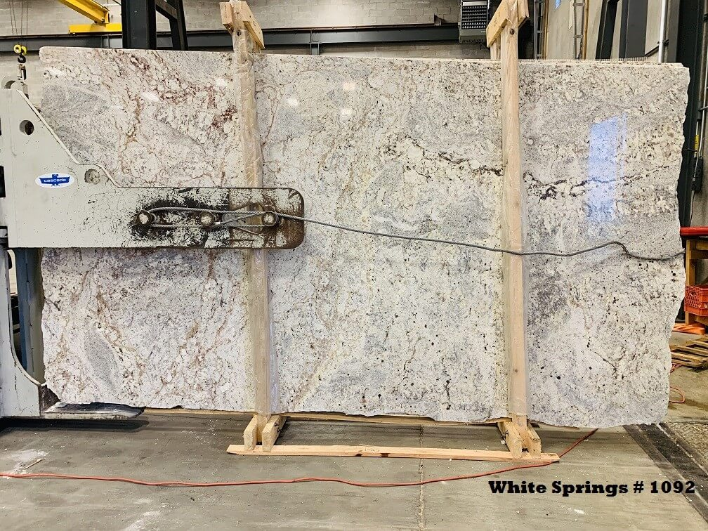 white Springs granite IGM Lot 1092